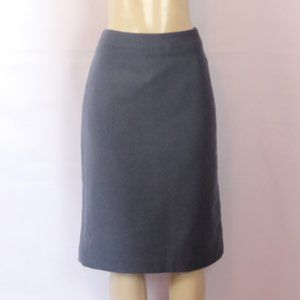 BRAND NEW J CREW THE PENCIL SKIRT BLUE WOOL SZ 14